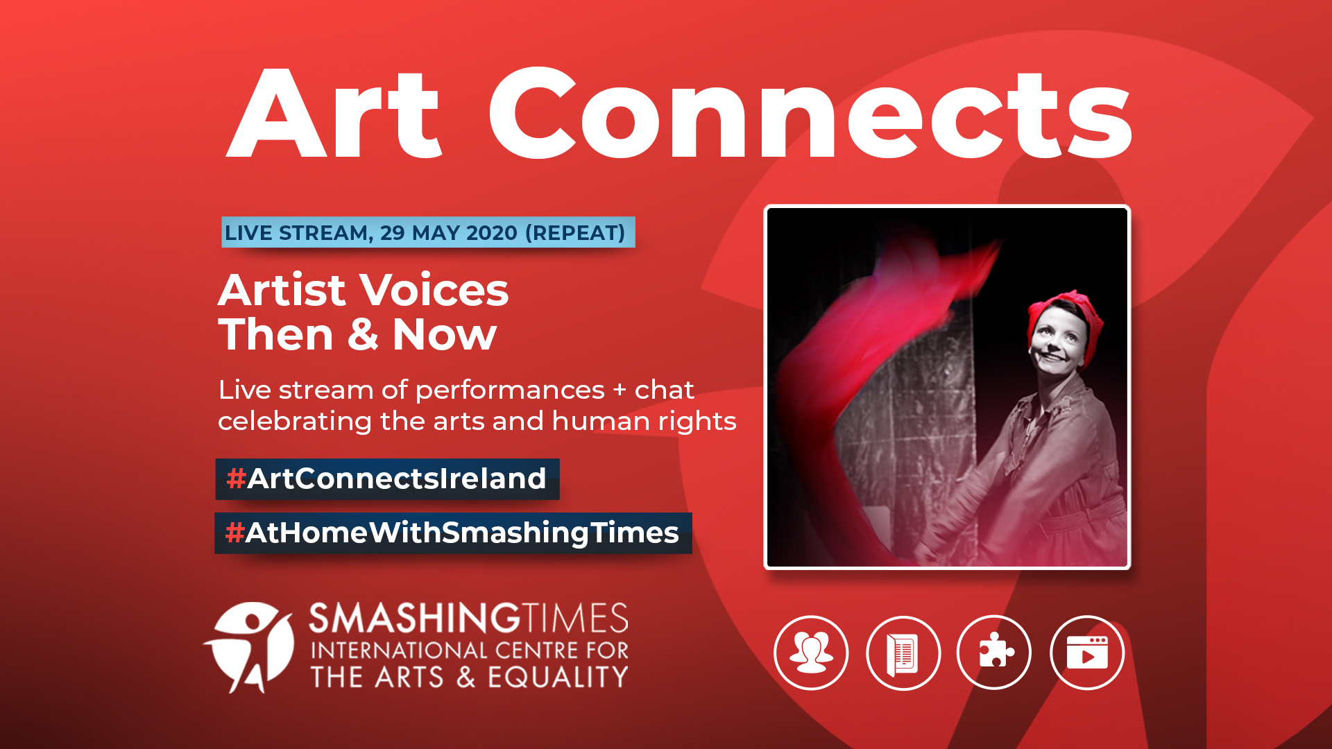 Livestream of Artist Voices Then and Now this Friday