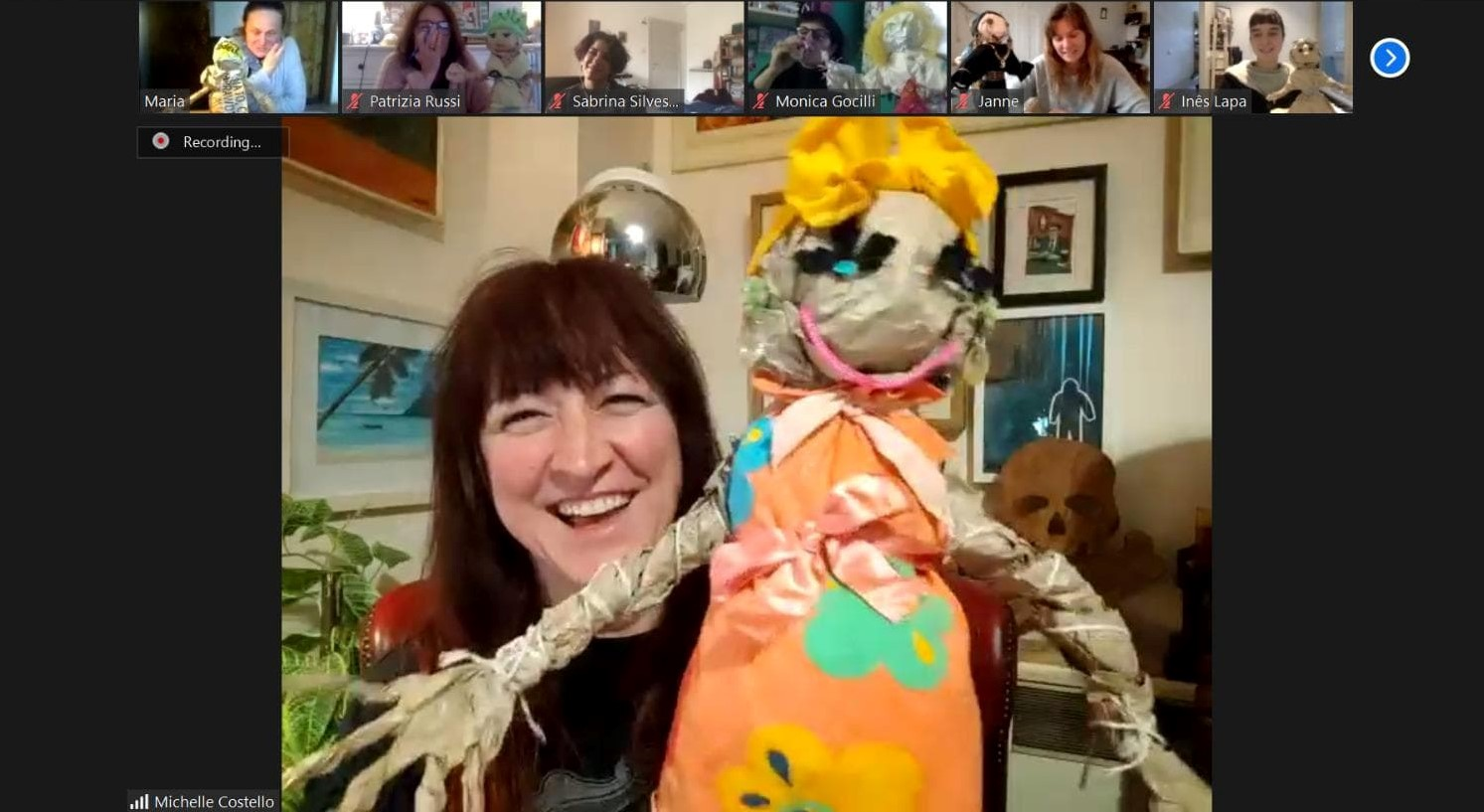 Puppetry art in adult education – addressing the needs of disadvantaged groups